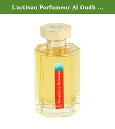 L'artisan Parfumeur Al Oudh By L'artisan Parfumeur For Men Eau De Parfum Spray 3.4 Oz. -An oriental spicy fragrance for men-Sweet savory smoky exotic warm & tempting-Top notes of cinnamon cardamom pink pepper & dried fruits-Heart notes of neroli rose castroneum leather civet & moss-Base notes of agar wood sandalwood Atlas cedar patchouli myrrh incense vanilla & tonka-Launched in 2009-Recommended for fall or winter wearProduct Line: Al OudhProduct Size: 100ml/3.4oz.