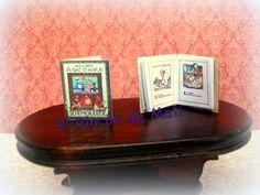 A-DAT is AAFJE, libro abecedario en holandés, escala 1/12 miniatura para casas de muñecas. de ElRincondeMati en Etsy