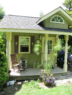 Quaint garden shed