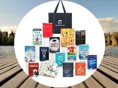 Win a $360.00 Bedside Reading in the Hamptons Gift Bag of 15 books. Every beach day deserves a good book, or how about the 15 page-turning titles found inside this Bedside Reading in the Hamptons Gift Bag one winner.
