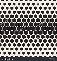 Vector seamless pattern. Modern stylish texture. Reticulate geometric tiles with gradually thickness.