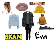 Eva-Skam❤ by dagmar-vala-hjorleifsdottir on Polyvore featuring New Look, Uniqlo, NIKE, Lowie, rag bone and Vans