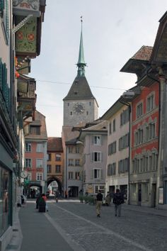 Aarau (Kanton Aargau) Switzerland Bern, Swiss Design, Medicine Wheel, Continents, Beautiful Landscapes, Croatia, Kanton, Beautiful Places, Places To Visit