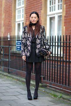 3c69a35dee88c4 Best London Fashion Week Street Style Fall 2015 - Street Style from London  Fashion Week