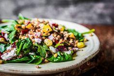 quinoa Quinoa Salad Recipes, Summer Salad Recipes, Veggie Recipes, Soup Recipes, Free Recipes, Dinner Recipes, Good Healthy Recipes, Healthy Salads, Healthy Eating