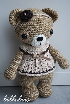 How beautiful is this amigurumi bear!
