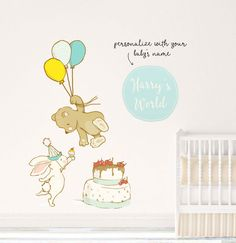Toddler Wall Art Toddler Decal Toddler Decor Baby Wall Name Baby Wall Stickers Baby Wall Decor Baby Wall Decal Kids Wall Decor Name 004WDBBC by TppCardS #tppcards #printable #invitations