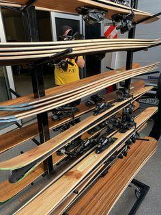 Ski And Snowboard, Wine Rack, Skiing, Diy, Furniture, Home Decor, Ski, Bottle Rack, Decoration Home