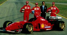 (Scuderia Ferrari), Ferrari F310 - Ferrari Tipo 046 3.0 V10 (RET) - Edmund Eddie Irvine (GBR) - Micheal Schumacher (Ferrari)