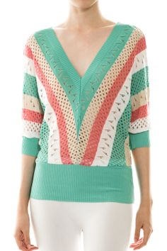 How about this knitted top for summer? Jelly Beans, Top P, Wholesale Clothing, Must Haves, Knitting, Summer, Sweaters, Color, Clothes