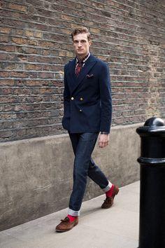 Florian S. Preppy Mens Fashion, Mens Fashion Blog, Mens Fashion Suits, Men's Fashion, Mens Suits, Fasion, Suit Men, Winter Fashion, Fashion Tips