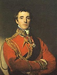 Arthur Wellesley, 1. Duke of Wellington 1769 - 1852,  Sieger über Napoleon in der Schlacht von Waterloo 18.6.1815. zweimaliger Premier von England