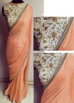 New Fancy Saree Designer Replica Wedding Festival Party Wear Ethnic Sari Blouse