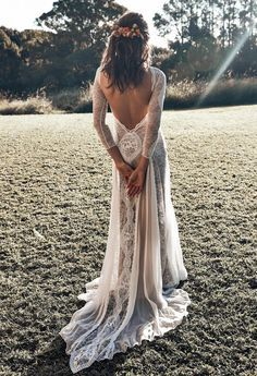 Wonderful Perfect Wedding Dress For The Bride Ideas. Ineffable Perfect Wedding Dress For The Bride Ideas. Boho Beach Wedding, Bohemian Wedding Dresses, Luxury Wedding, Dream Wedding, Wedding Tips, Wedding Planning, Boho Gown, Trendy Wedding, Bridal Gowns