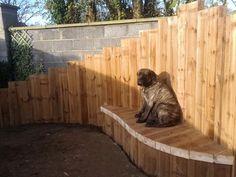 Garden bench for Sid