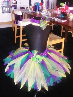 Amaya's Bayou Blast Tutu with Matching Lilypad Headband inspired by the animated feature The Princess and the Frog