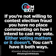 "Absolutely! Vote for the #GreaterGood NOT the ""LesserEvil! #JillStein2016"