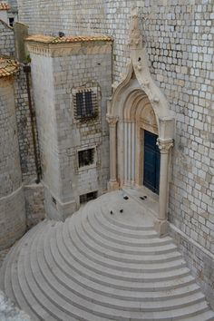 Steps St Dominic Street, Dubrovnik. One of the filming locations for Game of Thrones