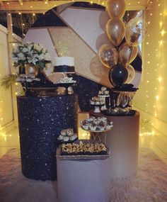 Surprise Birthday, Birthday Decorations, Backdrops, Instagram, Masculine Party, Decorating Tips, 15 Years, Fiestas, Anniversary Decorations
