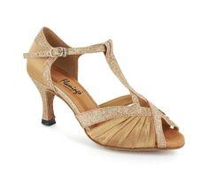 Flamingo open toe dance heels. - DanceShoesOnline.com - fls2707-2