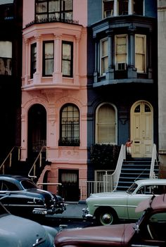 Werner Bischof's super-saturated NYC - 1953. Very much like NYC now, minus the vintage cars.