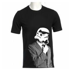 storm troopers SUIT UP T Shirt american apparel S M L XL. $19.99, via Etsy.