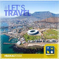 (( Cidade do Cabo ))  Segunda maior cidade da África do Sul e um dos dez mais procurados destinos turísticos do mundo. É conhecida pela liberdade de expressão e está repleta de museus de todos os tipos, safáris e grandes centros de compras.   E aí, vamos viajar para a vibrante Cidade do Cabo?