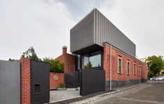 Julie Firkin Architects Design a Contemporary Residence in the Melbourne Suburb of Fitzroy