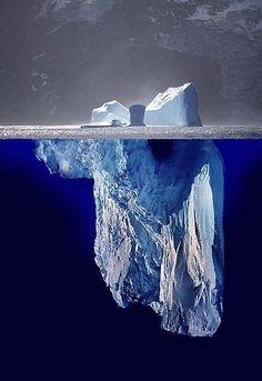 Below the Surface, Iceberg, Antarctica.