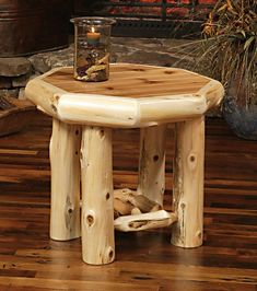 walnut valley log cabin furniture | from rocky top cedar log furniture log railing facebook twitter #rusticfurniturelog #LogFurniture