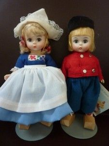 Netherlands Boy and Girl. I have these dolls. Who know when I bought them that I would be marrying into a Dutch family.
