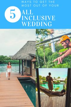 Get information on planning a destination wedding along with destination wedding tips, destination wedding locations, trends and advice. All Inclusive Destination Weddings, Wedding Tips, Caribbean, Mexico, How To Plan, Outdoor Decor, Travel, Marriage Tips, Viajes