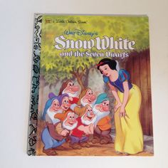 Snow White and the Seven Dwarfs Walt Disney's A Little Golden Book 1984 Like Brand New Mint Condition by TheBrownPear on Etsy https://www.etsy.com/listing/202478478/snow-white-and-the-seven-dwarfs-walt