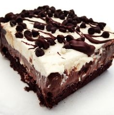"Paleo chocolate ""lasagna"""