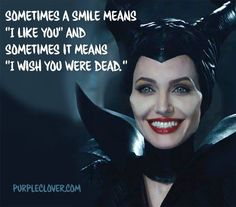 If you aren't sure when I smile at you assume it's the latter of the two. Evil Queen Quotes, Evil Quotes, Dark Quotes, Sassy Quotes, Sarcastic Quotes, Attitude Quotes, Mood Quotes, True Quotes, Funny Quotes