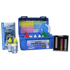 For our list, we included a good variety of swimming pool test kits that should make it very easy to test the water quality. Here are the top 10 best swimming pool test kits. Cool Swimming Pools, Cool Pools, Hot Tub Care Tips, Swimming Pool Maintenance, Pool Chlorine, Pool Shock, Pool Care, Intex Pool, Pool Chemicals