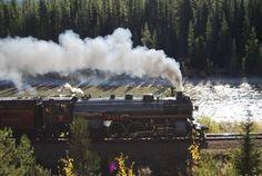 CPR Empress 2816 Steam Locomotive | Canadian Rockies Blog