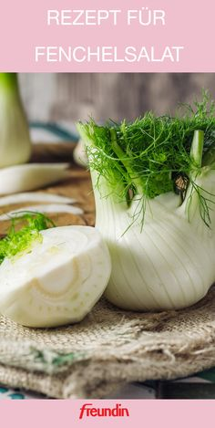 * Recipe for fennel salad freundin.de Super Great Delicious fennel salad i. Mothers Day Dinner, Fennel Salad, Chutney Recipes, Fermented Foods, Evening Meals, Food Items, Baby Food Recipes, Juice Recipes, Vegetarian Recipes