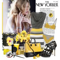 Falling in love with yellow..