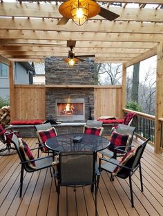 Outdoor fireplace pergola #pergolafireplace #pergolafirepit