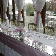 mirror on wedding table - Google Search