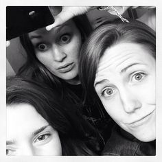 Grace Helbig, Mamrie Hart, and Hannah Hart