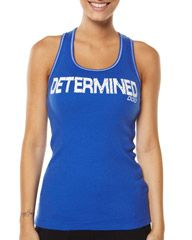 LORNA JANE DETERMINED TANK - BLUEBELL