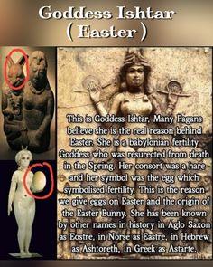 Ishtar Easter, Pagan
