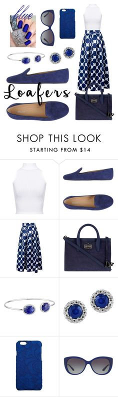 """""""Blue Period"""" by girl-inthe-park ❤ liked on Polyvore featuring WearAll, Bally, Diane Von Furstenberg, Dee Berkley, Effy Jewelry, Dolce&Gabbana and Bulgari"""