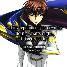 Manga & Anime Picture Quotes : Code Geass