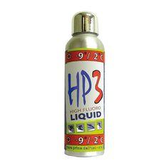 Briko Maplus – HP3 Med liquida 75 ml listino €30,00 - scontata €24,00.  Paraffina liquida ad alto contenuto di fluoro per uso agonistico come prodotto finale o come prodotto di base per sovrapporre le cere per fluorurate FP4. Da utilizzare con qualunque tipo di neve da -9° a -2°C. ma non bagnata. Umidità dell'aria da 60% a 100%.  Applicazione consigliata a freddo con tampone in sughero e spazzola. Barattolo da 75 ml.