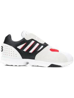 Low-top Sneakers Zx Run Logo Black Grey Red White In Whtblkred Knit Sneakers, Adidas Sneakers, Athletic Fashion, Athletic Shoes, Sportswear Brand, Sneakers Fashion, Red Leather, Women Wear, Products