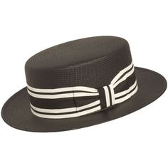 Capas Shantung Boater Hat Spring Racing Carnival, Boater Hat, Derby Day, Hats For Men, Outfit Of The Day, Two By Two, Black And White, Style, Fashion