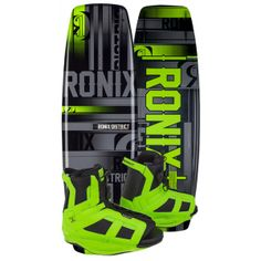Ronix District Wakeboard with District Boots